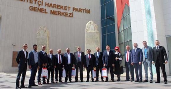 MHP'nin Sakarya Adayları Ankara'da
