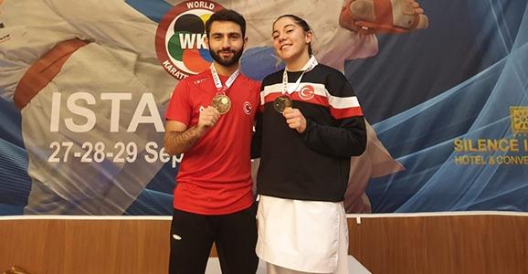 Milli Karatecilerimiz Şampiyon