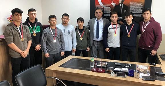 Osmangazi'den 9 Şampiyonluk