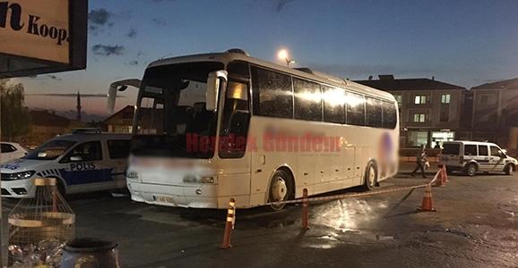 Otobüsün Altında Kalarak Yaralandı