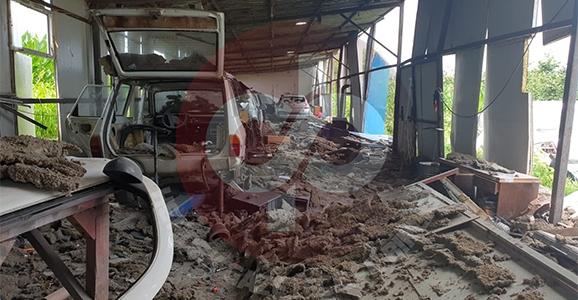 Patlamanın Şiddeti Çevrede Hasara Yol Açtı