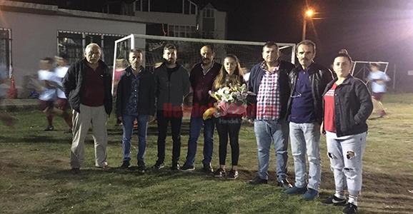 Rasimpaşaspor'a Kadın Antrenör