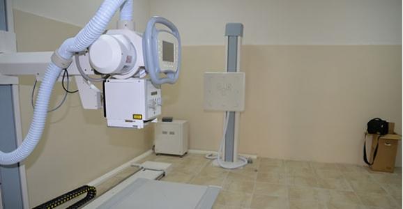 Sağlıklı Hayat Merkezinde röntgen birimi hizmete girdi