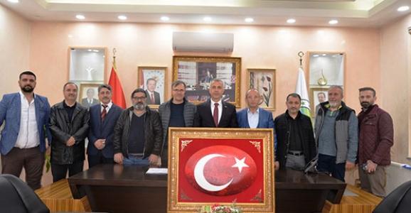 Sanayicilerden Babaoğlu'na Hayırlı Olsun Ziyareti