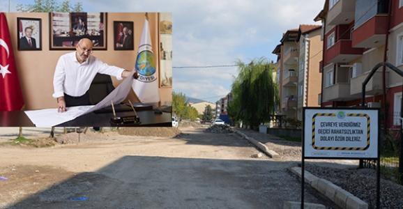Servetiye Caddesine Otopark