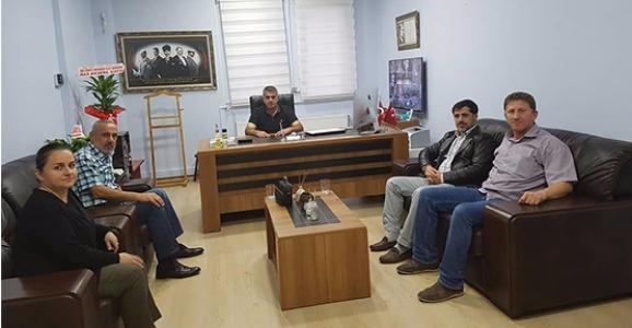Sofu'dan Halk Eğitim ve Öğretmenevi Müdürlerine Ziyaret