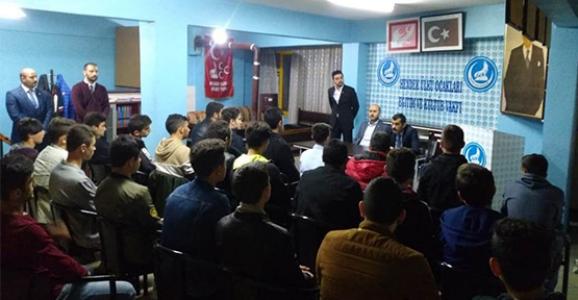 Sofuoğlu Hendek Ülkü Ocaklarını Ziyaret Etti