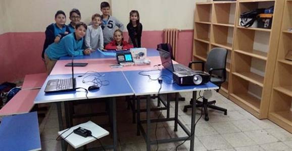 STEM ve Robotik Kodlama Sınıfı Açıldı