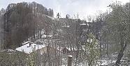 Hendek'in Terasına Kar Yağdı