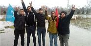 Hendek'te Ülkücüler Türkistan'lı...