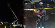 İtfaiye ve Sedaş'tan Leylek Operasyonu