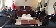 PÜSKÜLLÜ KAYMAKAM YILDIZ'I ZİYARET ETTİ...