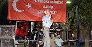 SOFUOĞLU'NDAN DEMOKRASİ NÖBETİNDE KONFERANS