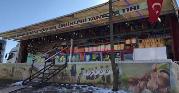 Trabzon Tanıtım Tırı Hendek'te