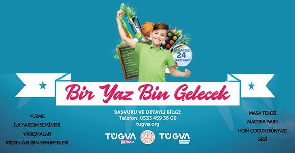 Tügva'dan Yaz Okulu