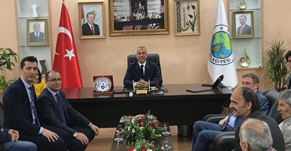 Türk Eğitim-Sen'den Babaoğlu'na Ziyaret
