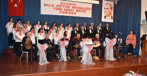 Türk Sanat Müziği Nisan Yağmurları Konseri Yapıldı