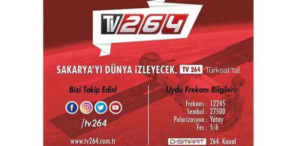 TV 264 Yayına Başlıyor