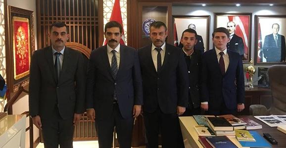 Ülkü Ocakları Başkanları Ankara'da