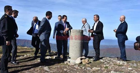 Vali Balkanlıoğlu Sakarya'nın Zirvesine Çıktı