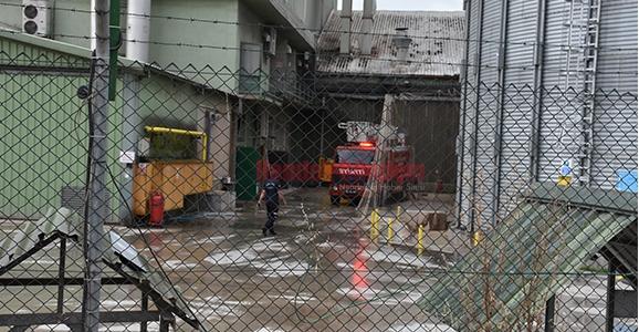 Yem Fabrikasında Patlama 2 Yaralı