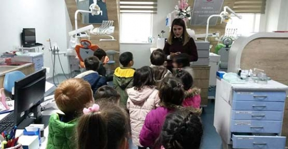 Yenimahalle Anaokulu Ağız-Diş Sağlığı Hastanesinde