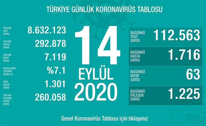 Can Kaybı 7119, Hasta Sayısı 292 Bin 878