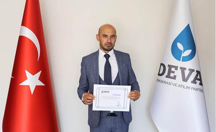 DEVA Partisi Hendek ilçe Başkanlığına Fatih Güdü atandı