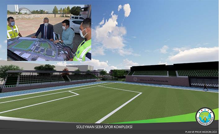 Süleyman Seba Spor Kompleksi Projesi Hayata Geçiyor