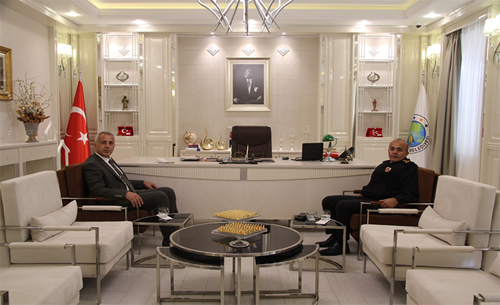 Albay Kutlu'dan Başkan Babaoğlu'na Ziyaret
