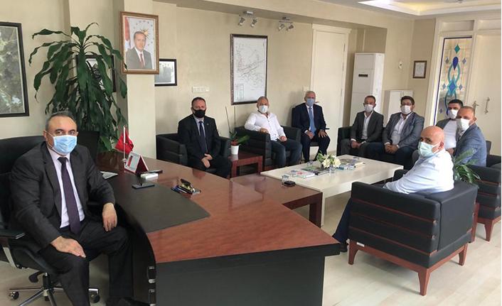 MHP İlçe Başkanı Namlı Ziyaretlere Başladı