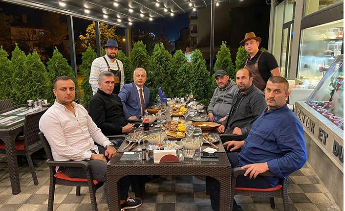 Babaoğlu misafirleri ile Baytar'daydı