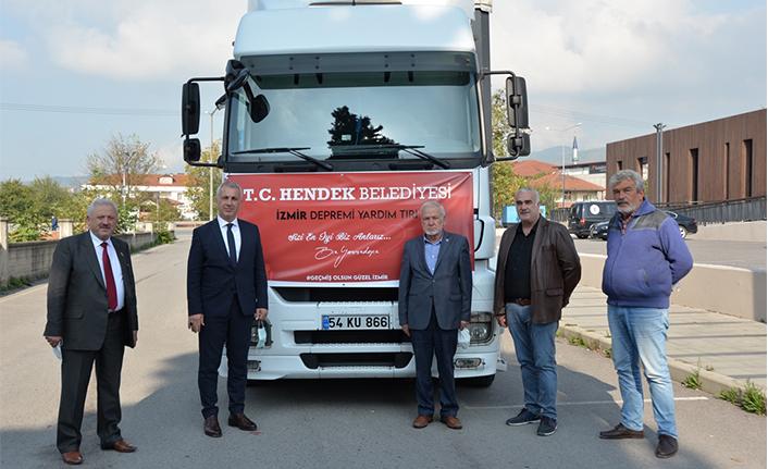Hendek Belediyesinden İzmir'e Yardım Eli