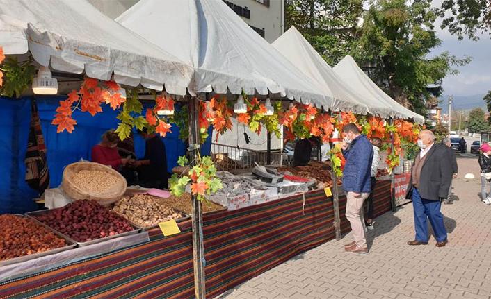 Yöresel Yiyecek ve Doğal Ürünler Kermesi Açıldı