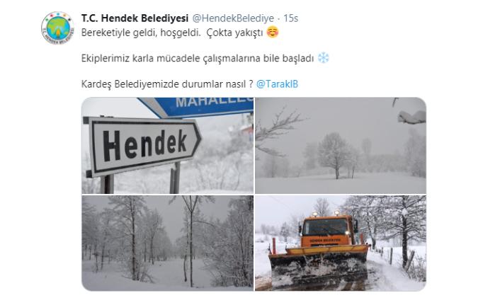 Belediyelerden Kar Diyaloğu