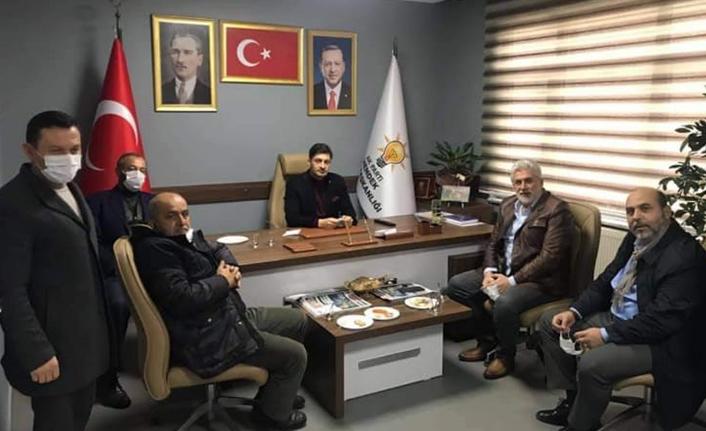 Kızılay'dan Teşekkür Ziyareti