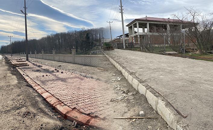 Nuriye ve Hacıkışla'da Yol Çalışmaları