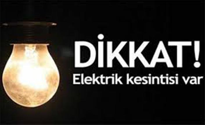 Bu Mahallelerde Elektrik Kesintisi Olacak