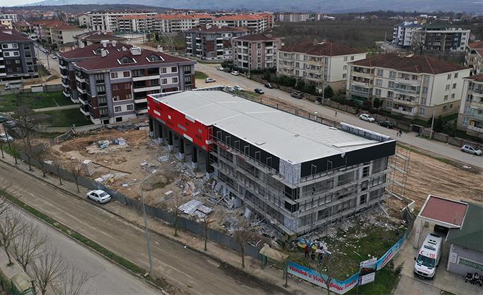 Hendek İtfaiye Binası'nın yüzde 97'si tamam