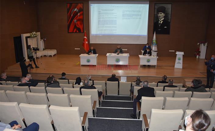 Hendek Belediye Meclisi 10 Maddeyi Karara Bağladı