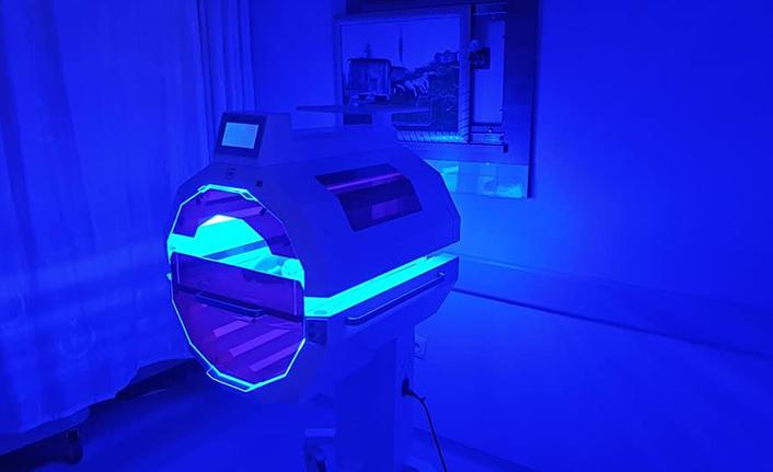 Devlet Hastanesine Tünel Fototerapi Cihazı