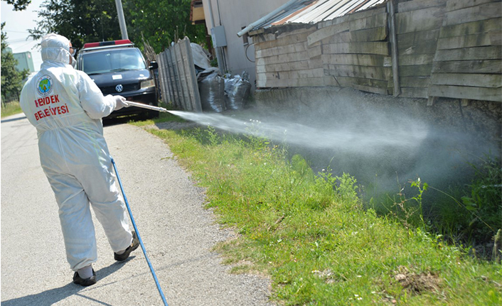 Hendek Belediyesinden Etkin Larva Mücadelesi