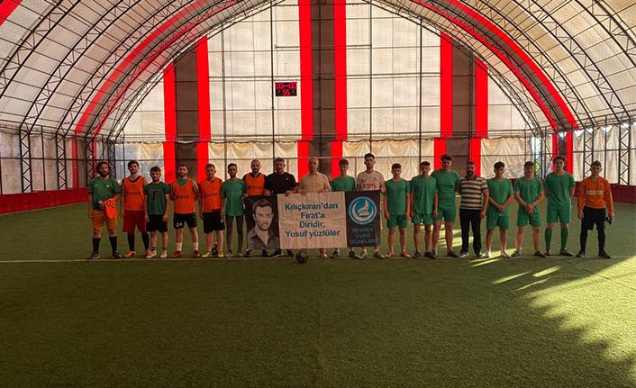 Şehit Fırat Yılmaz Çakıroğlu Futbol Turnuvası Düzenlendi