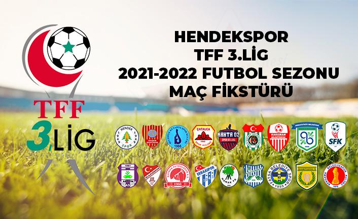 Hendekspor'un 3. Lig Fikstürü
