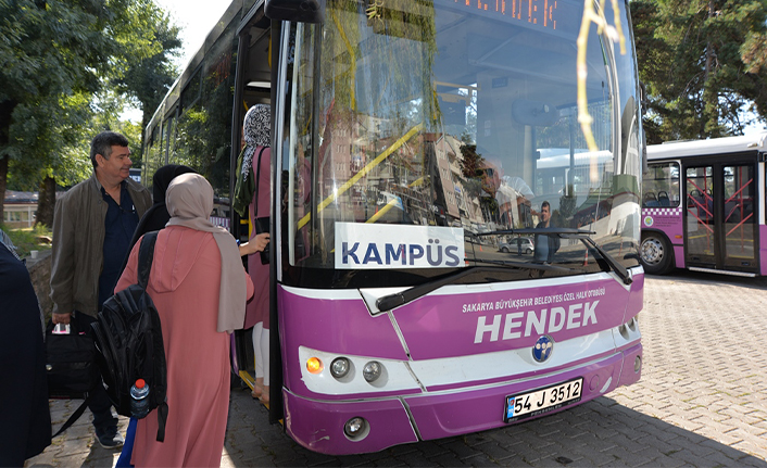 Hendek-Kampüs Seferleri Başlıyor
