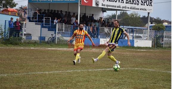 Akova Barışspor Sahasında Yara Aldı  0-1