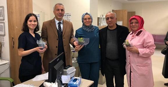 Babaoğlu Sağlık Çalışanlarının Tıp Bayramını Kutladı