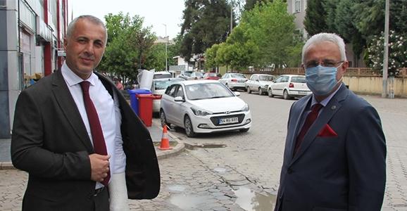 Başsavcı Dursun'dan Babaoğlu'na Ziyaret