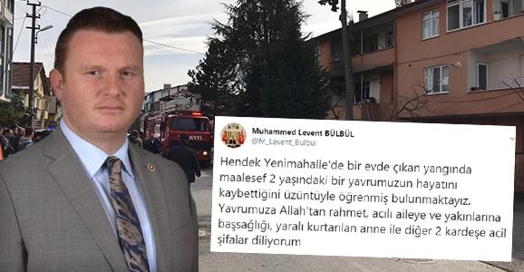 Bülbül'den Taziye Mesajı
