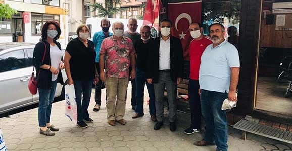 CHP'den Maske ve Dezenfektan